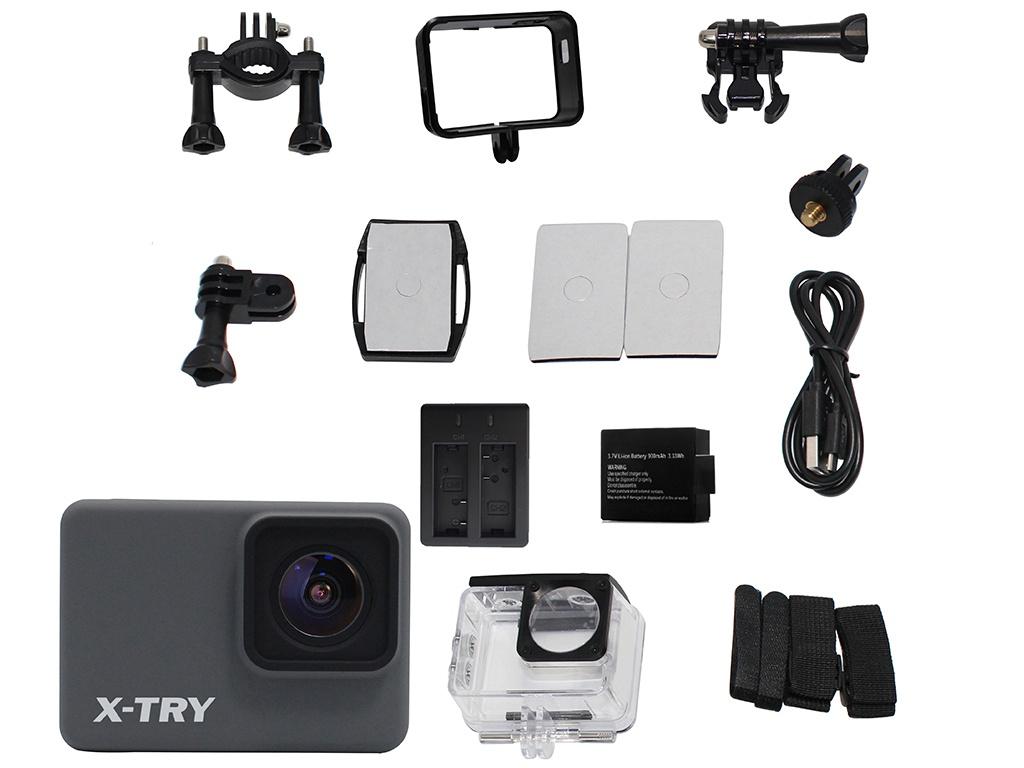Фото - Экшн-камера X-TRY XTC263 Real 4K Wi-Fi Battery экшн камера x try xtc262 real 4k wi fi power