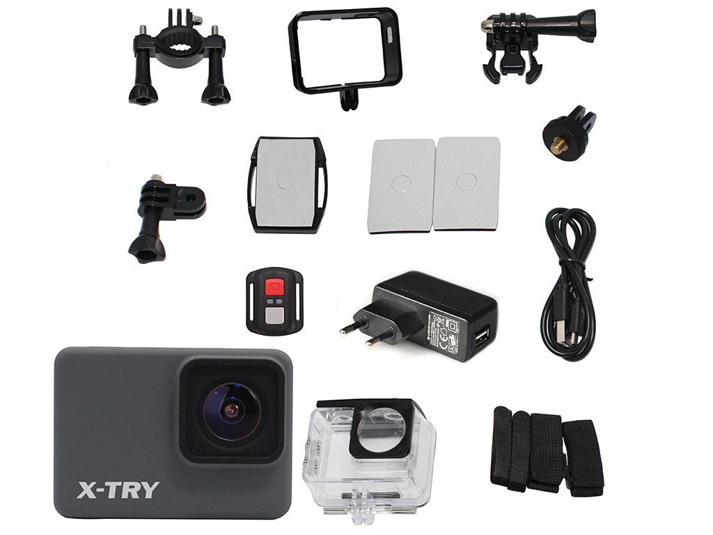 Фото - Экшн-камера X-TRY XTC262 RC Real 4K Wi-Fi Power экшн камера x try xtc262 real 4k wi fi power
