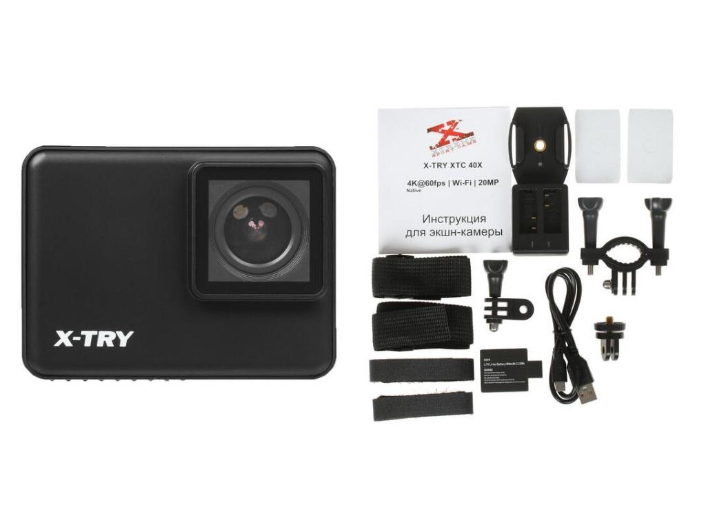 Фото - Экшн-камера X-TRY XTC403 Real 4K/60FPS WDR Wi-Fi Battery экшн камера x try xtc262 real 4k wi fi power