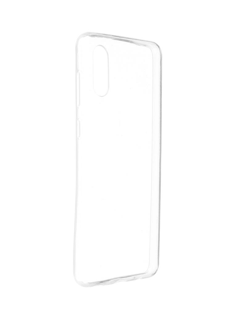 Чехол iBox для Samsung Galaxy M02 Crystal Silicone Transparent УТ000026616 чехол ibox для samsung galaxy m21 crystal silicone transparent ут000021234