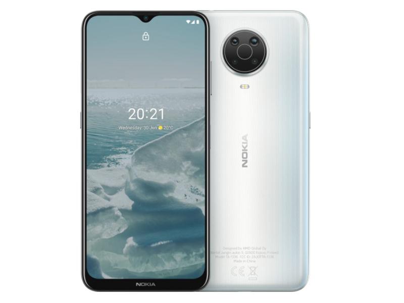 Сотовый телефон Nokia G20 (TA-1336) 4/128GB Silver Выгодный набор + серт. 200Р!!!