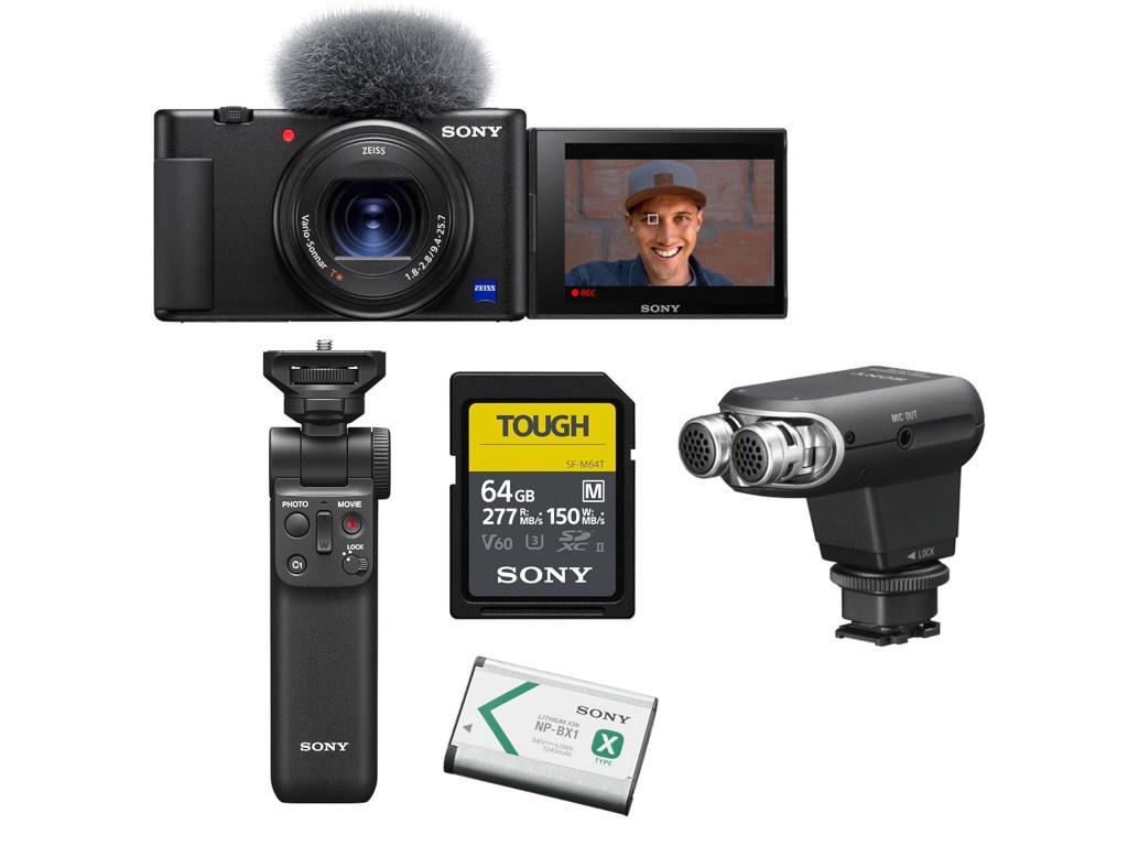 Фотоаппарат Sony ZV-1/B Pro kit Black