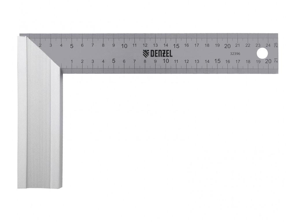 Угольник Denzel 250mm 32396