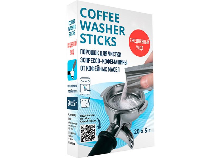 Порошок для очистки рожковой кофемашины Dr.Purity Coffee Washer Sticks 20шт