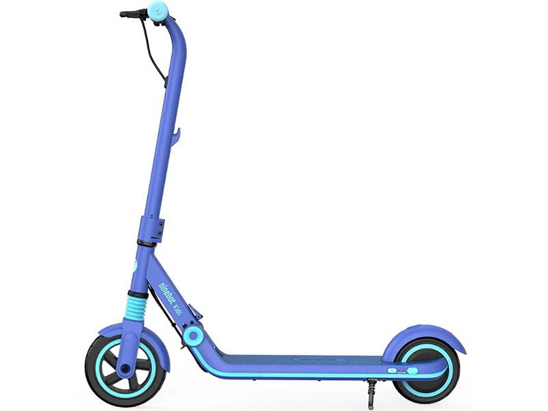 Электросамокат Ninebot By Segway eKickScooter Zing E8 Blue с влагозащитой