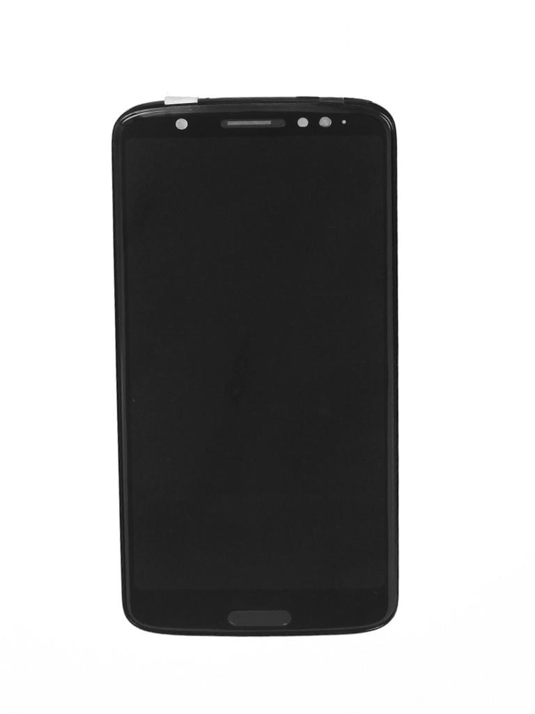 Дисплей Vbparts для Motorola Moto G6 матрица в сборе с тачскрином Black 081231