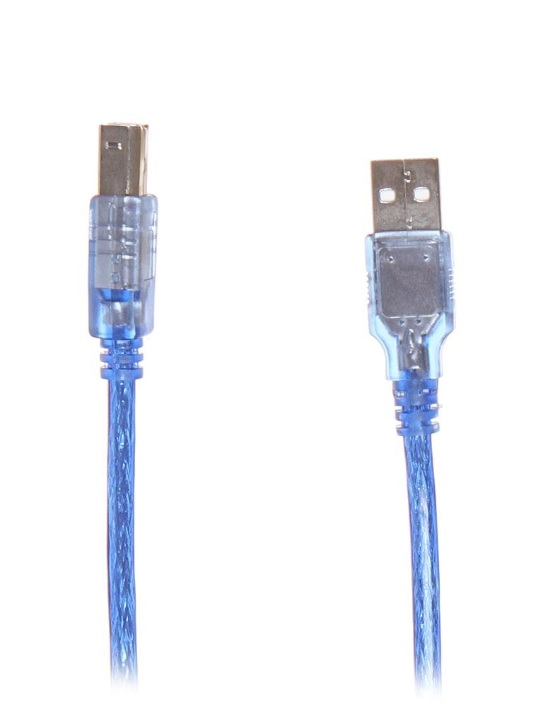 Аксессуар Simplypro USB 2.0 Type-A(M) - Type-B(M) 1m Blue 10924