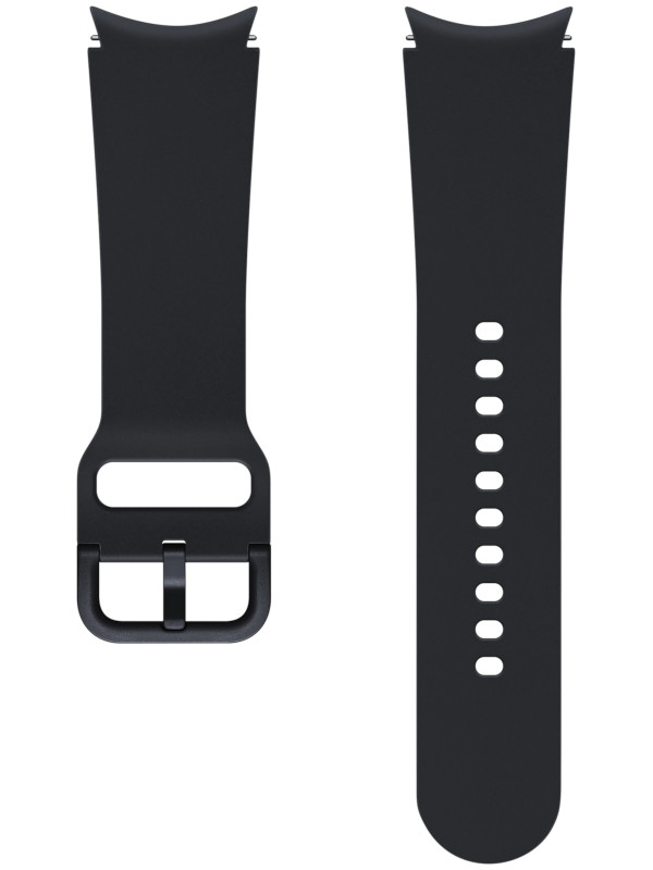 Aксессуар Ремешок для Samsung Galaxy Watch 4 Sport Band S/M Black ET-SFR86SBEGRU aксессуар ремешок samsung galaxy watch sport band pink et sfr82mpegru для active active 2