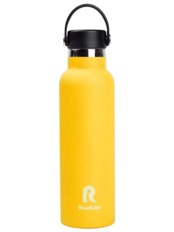 Термос Roadlike Flask 600ml Yellow 368230