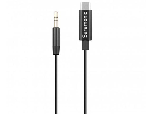 Фото - Переходник Saramonic TRS - USB-C 20cm SR-C2001 кабель переходник saramonic sr xc3000