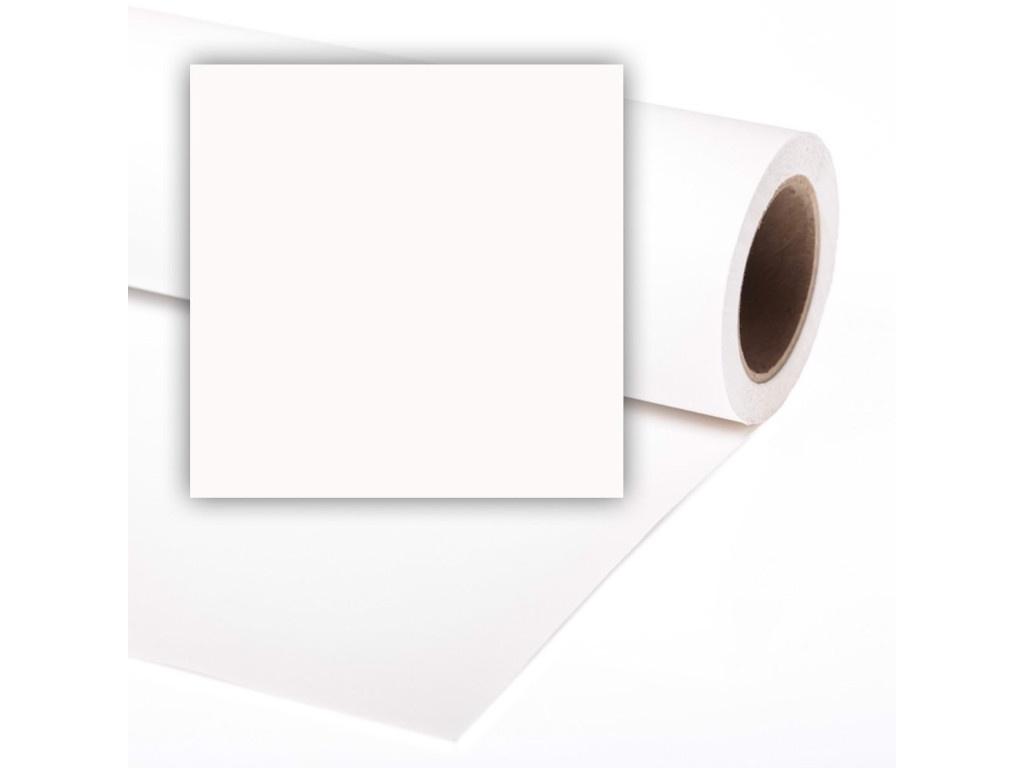 Фото - Фон Colorama 1.35x11m Super White LL CO5107 фон бумажный colorama ll co531 1 35x11 м maize