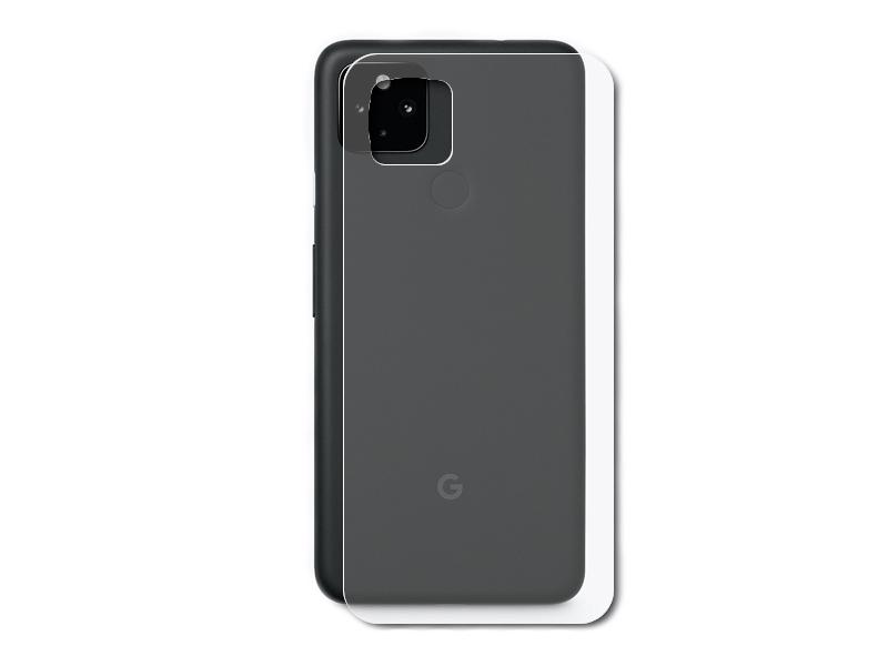 Гидрогелевая пленка LuxCase для Google Pixel 4a 0.14mm Back Transperent 86698