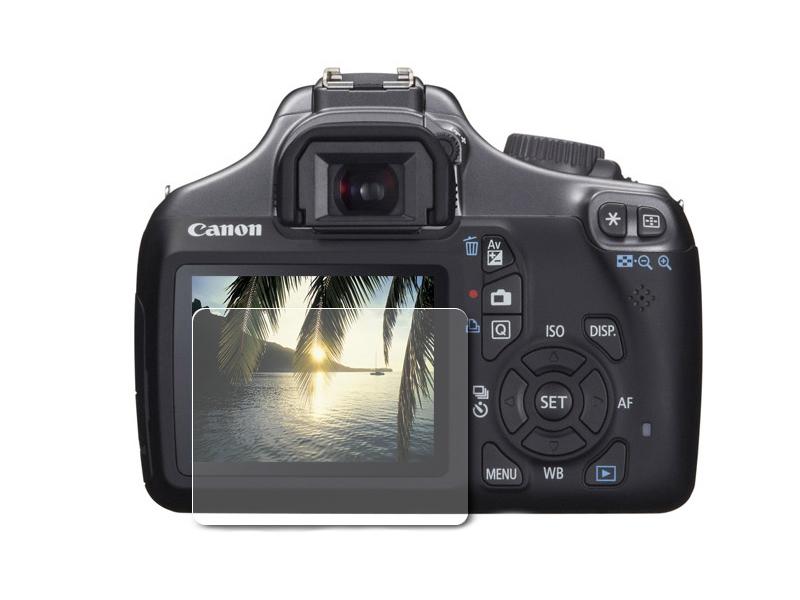 Аксессуар Гидрогелевая пленка LuxCase для Canon EOS 1100D / 1200D / 1300D / 1500D / 2000D 0.14mm Front Transparent 86679 аккумулятор canon lp e10 original для canon eos 1100d 1200d 1300d