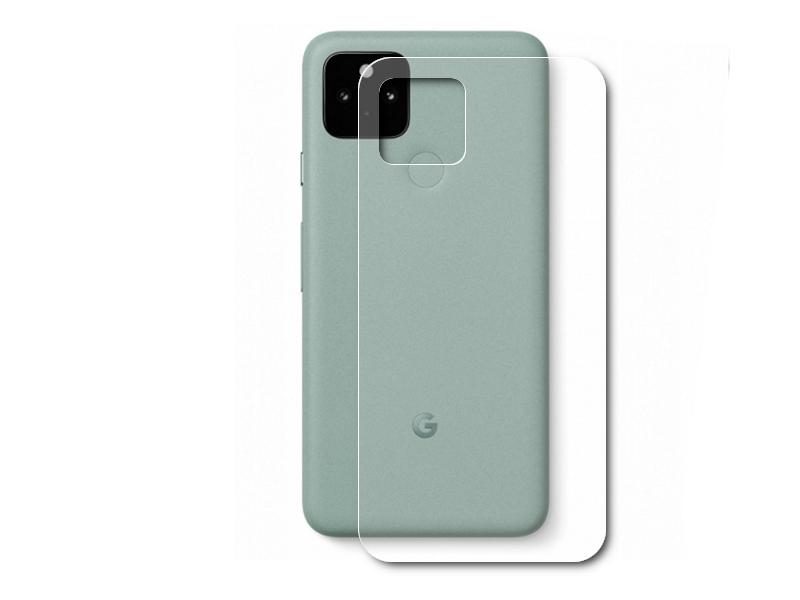 Гидрогелевая пленка LuxCase для Google Pixel 5 0.14mm Back Transparent 86725