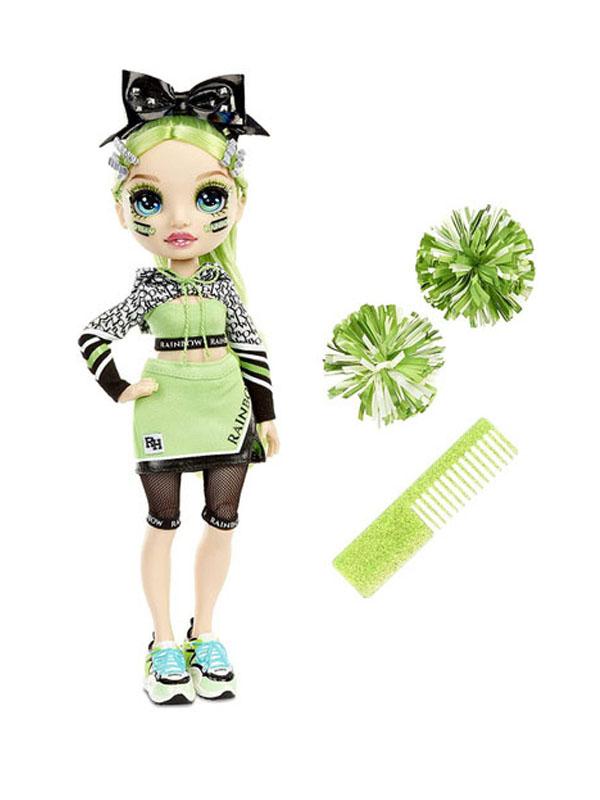 Кукла LOL Rainbow High Cheer Doll Jade Hunter 572060