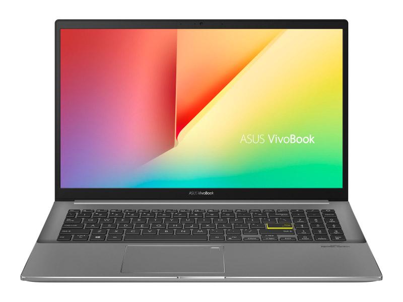 Фото - Ноутбук ASUS S533EA-BN240T 90NB0SF3-M04680 (Intel Core i5-1135G7 2.4 GHz/8192Mb/512Gb SSD/Intel Iris Xe Graphics/Wi-Fi/Bluetooth/Cam/15.6/1920x1080/Windows 10 Home 64-bit) ноутбук asus vivobook s15 s533ea bn129t intel core i5 1135g7 2400mhz 15 6 1920x1080 8gb 512gb ssd intel iris xe graphics windows 10 home 90nb0sf3 m03710 черный