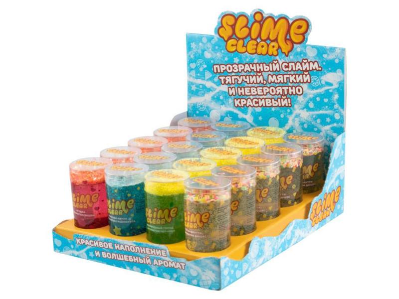 Слайм Slime Clear-Slime 20 банок по 250g
