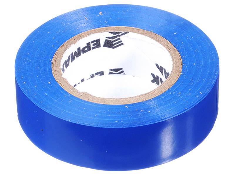 Изолента Ермак 19mm x 18m Blue 672-031