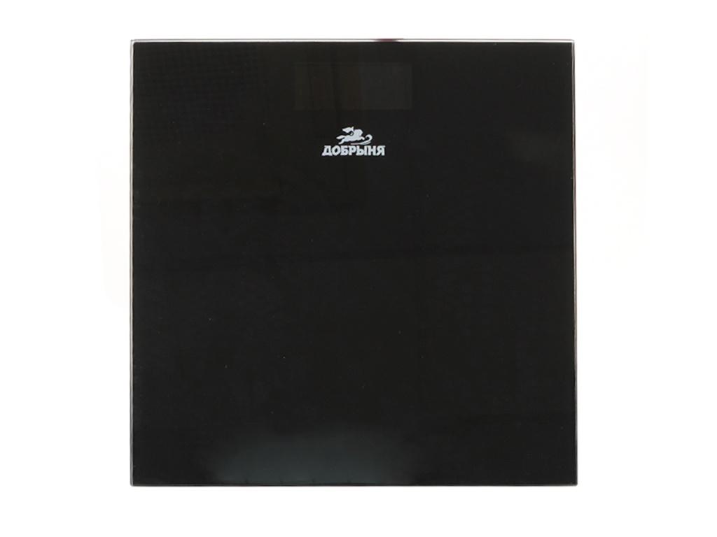 Весы напольные Добрыня DO-3016B Black