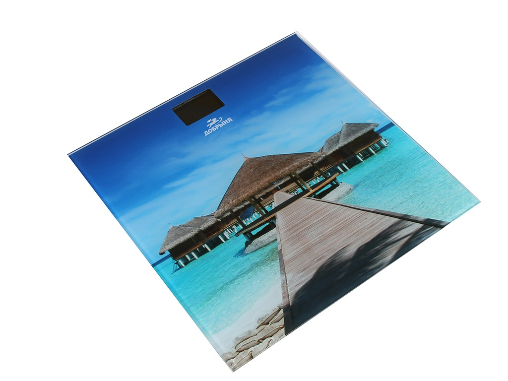 Весы напольные Добрыня DO-3006M Мальдивы