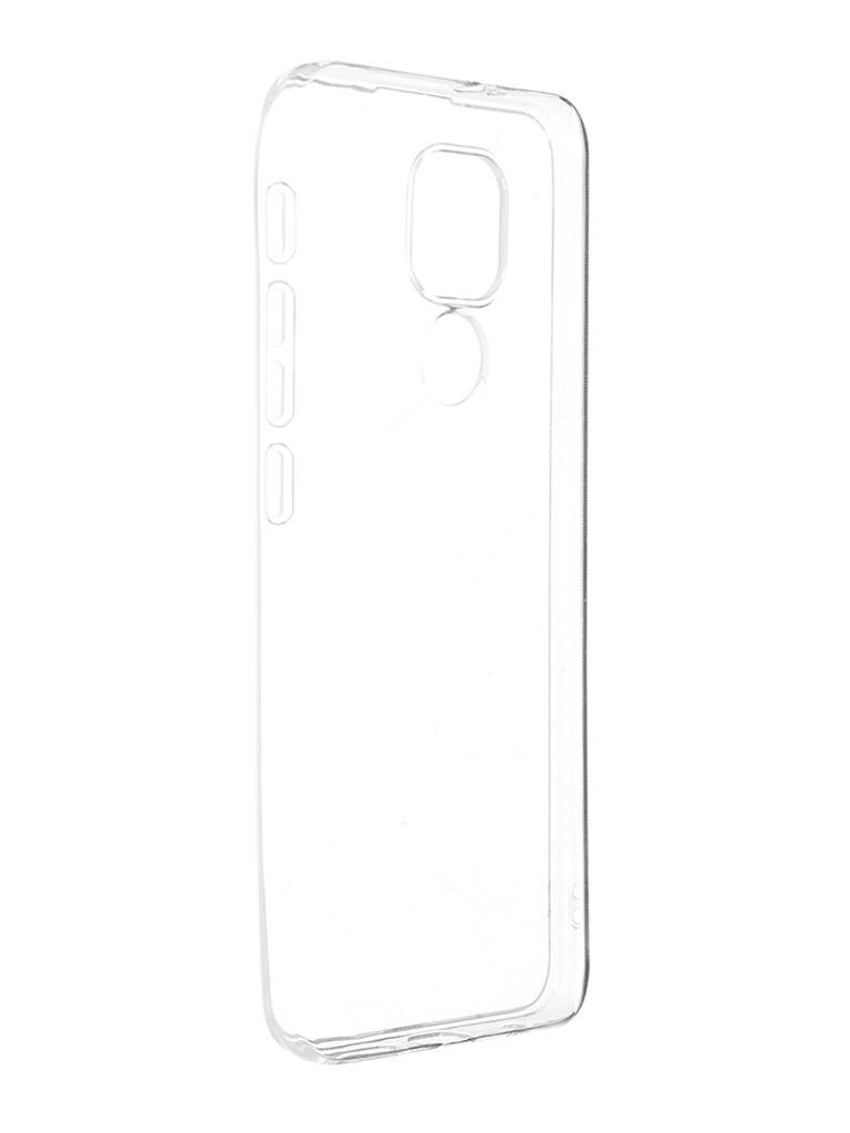 Чехол Alwio для Motorola Moto G9 Play Silicone Transparent ATRMG9P