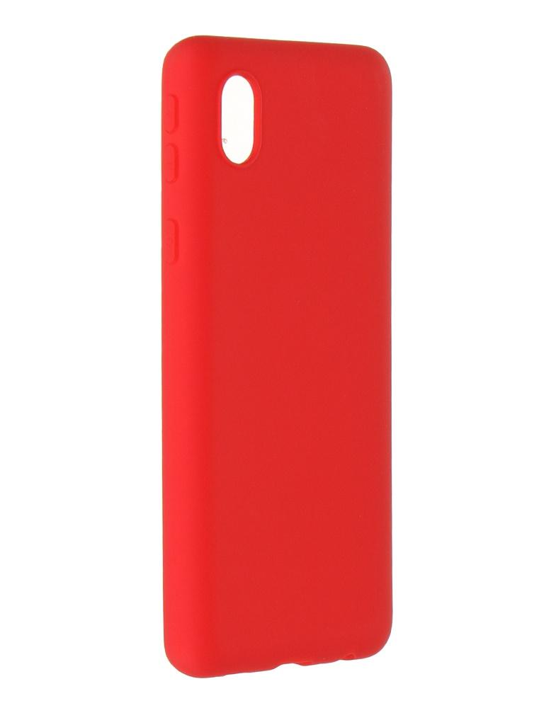 Чехол Alwio для Samsung Galaxy A01 Core Soft Touch Red ASTGA01CRD