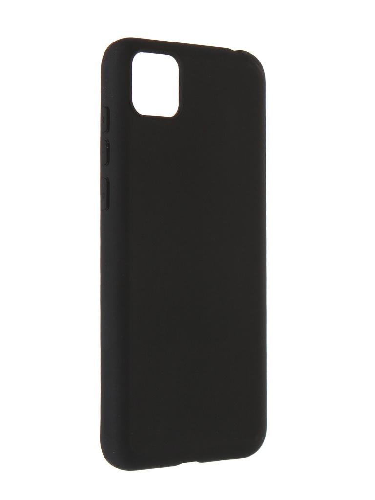 Чехол Alwio для Huawei Y5p / Honor 9S Soft Touch Black ASTHWY5BK
