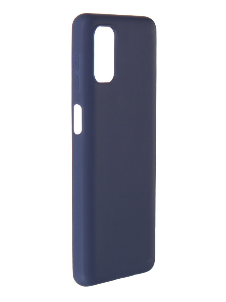 Чехол Alwio для Samsung Galaxy M51 Soft Touch Dark Blue ASTGM51BL