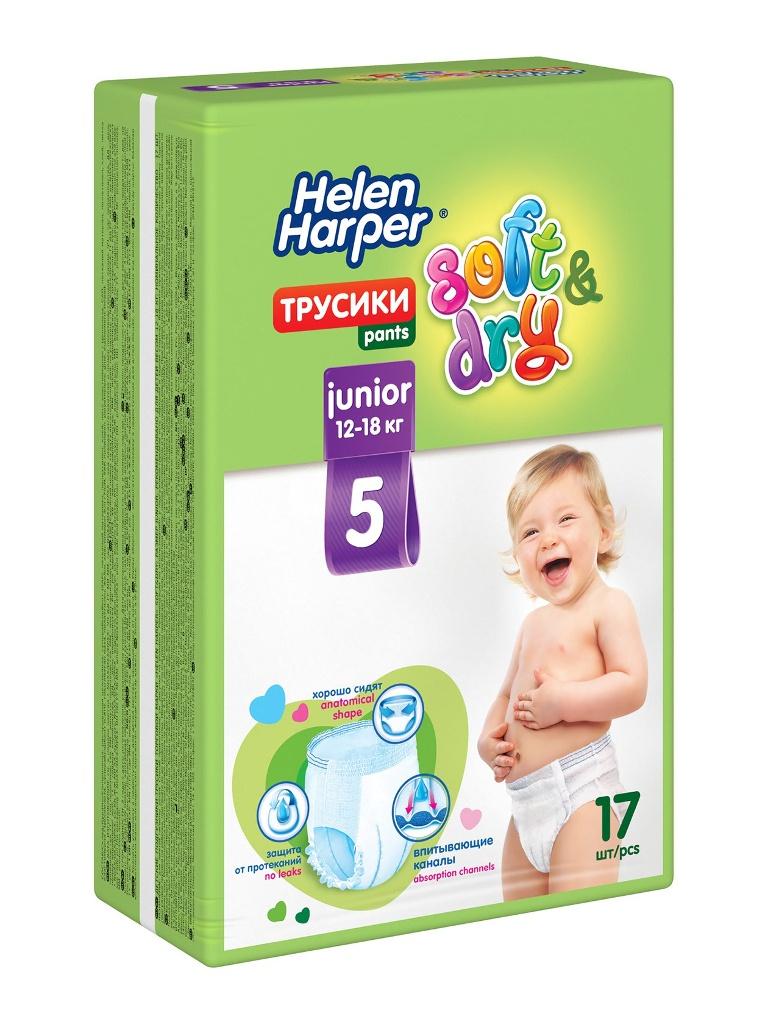 Подгузники Helen Harper Soft & Dry Junior Трусики 12-18кг 17шт 270720 / 270817