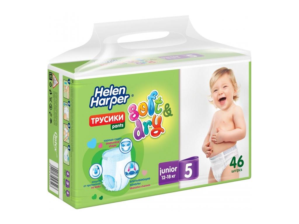 Подгузники Helen Harper Soft & Dry Junior Трусики 12-18кг 46шт 270553 / 270942