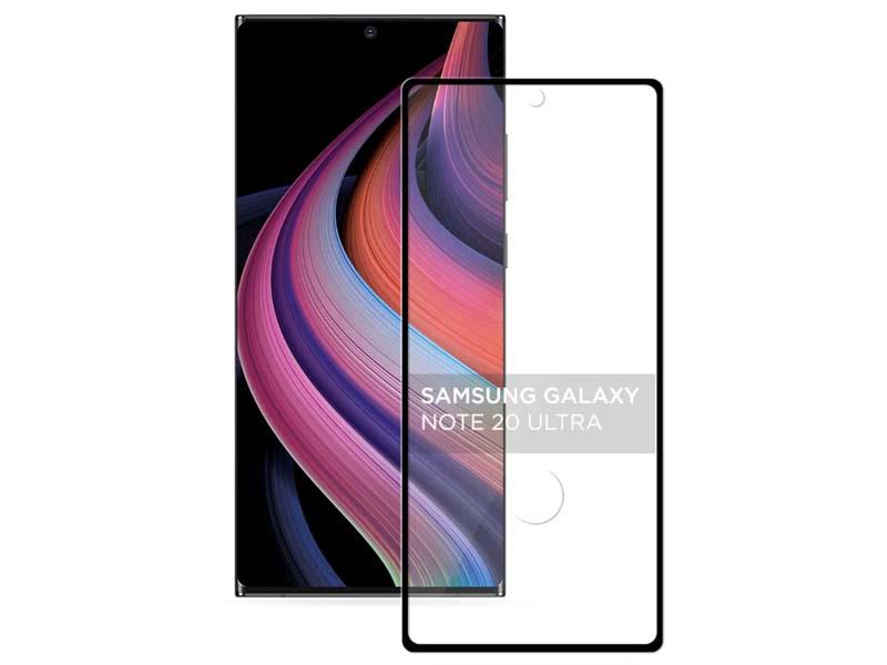 Защитное стекло Activ для Samsung Galaxy Note 20 Ultra Full Screen Activ Clean Line 3D Black 117330