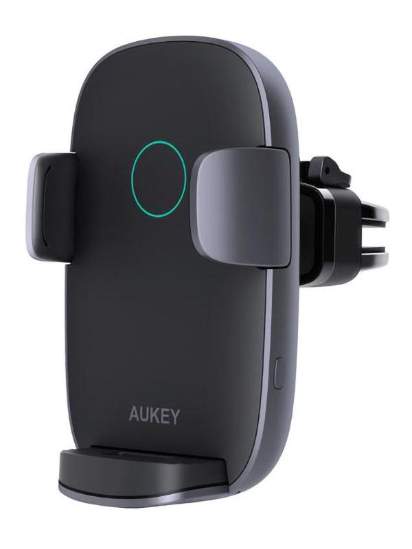 Держатель Aukey Windshield Dashboard Car Mount With 10W Wireless Charging HD-C52