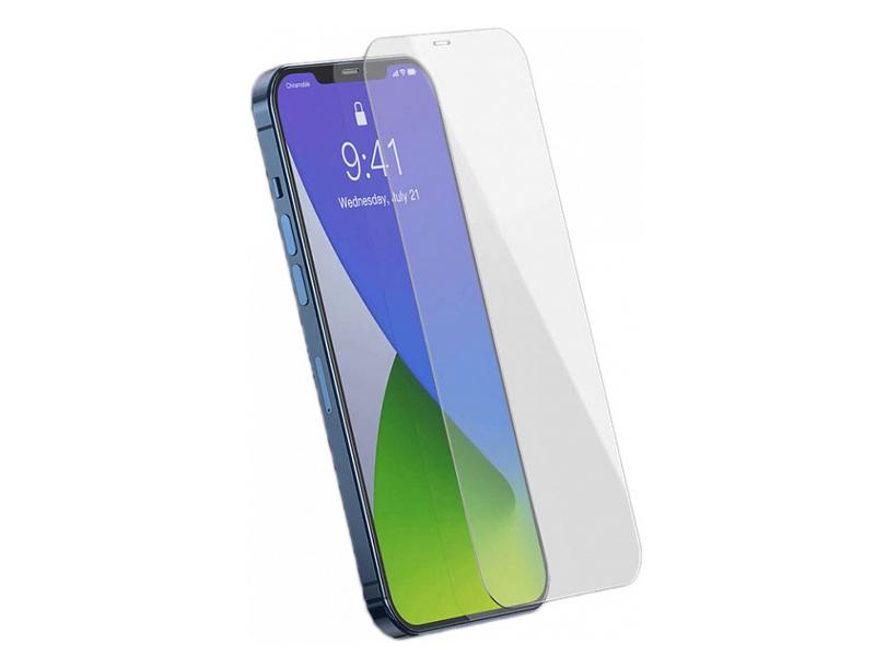 Защитное стекло Baseus для APPLE iPhone 12 / Pro 0.3mm Full Glass Tempered Film White SGAPIPH61P-LS02