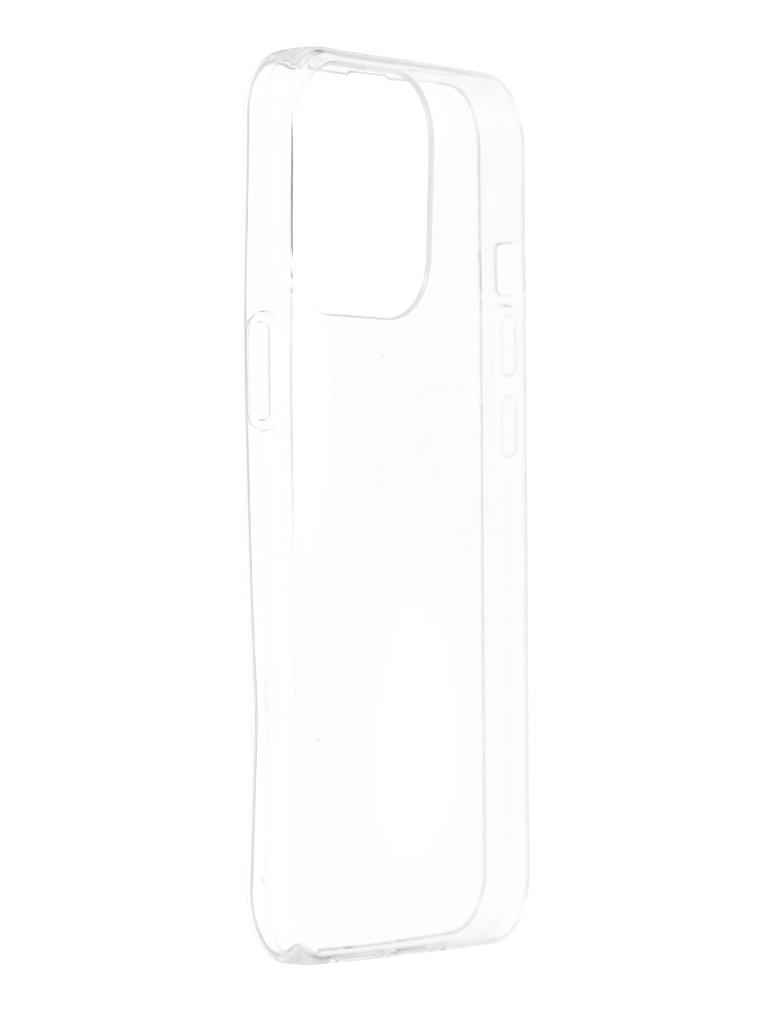 Чехол iBox для APPLE iPhone 13 Pro Crystal Silicone Transparent УТ000027030