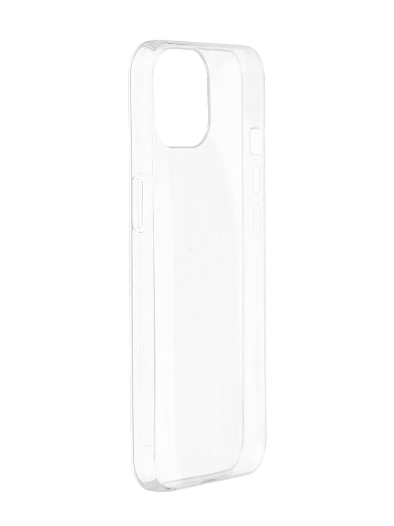 Чехол iBox для APPLE iPhone 13 Mini Crystal Silicone Transparent УТ000027029