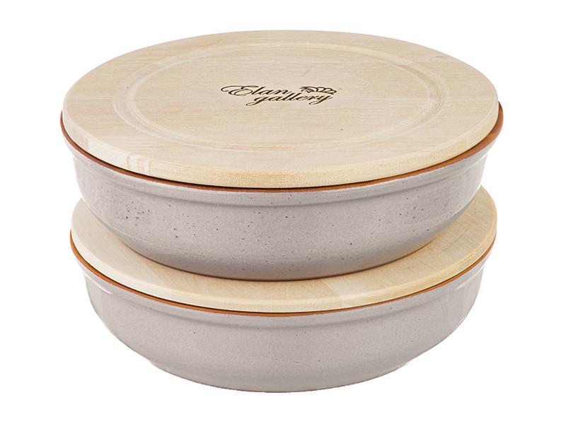 Набор блюд для запекания Elan Gallery TerraCotta 1.0L 2шт 570108