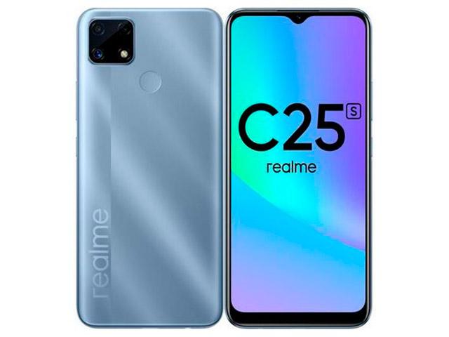 Сотовый телефон realme C25S 4/128GB Water Blue