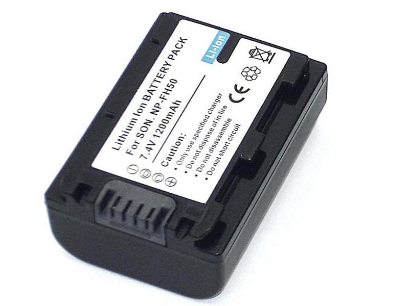 Аккумулятор Vbparts NP-FH50 7.4V 1200mAh 077135 для Sony DCR-DVD
