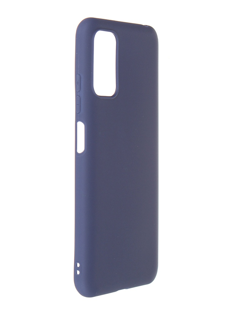 Чехол Zibelino для Poco M3 Pro Soft Matte Blue ZSM-XIA-M3-PRO-BLU