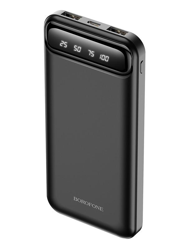 Внешний аккумулятор Borofone Power Bank BJ14 Freeway 10000mAh Black