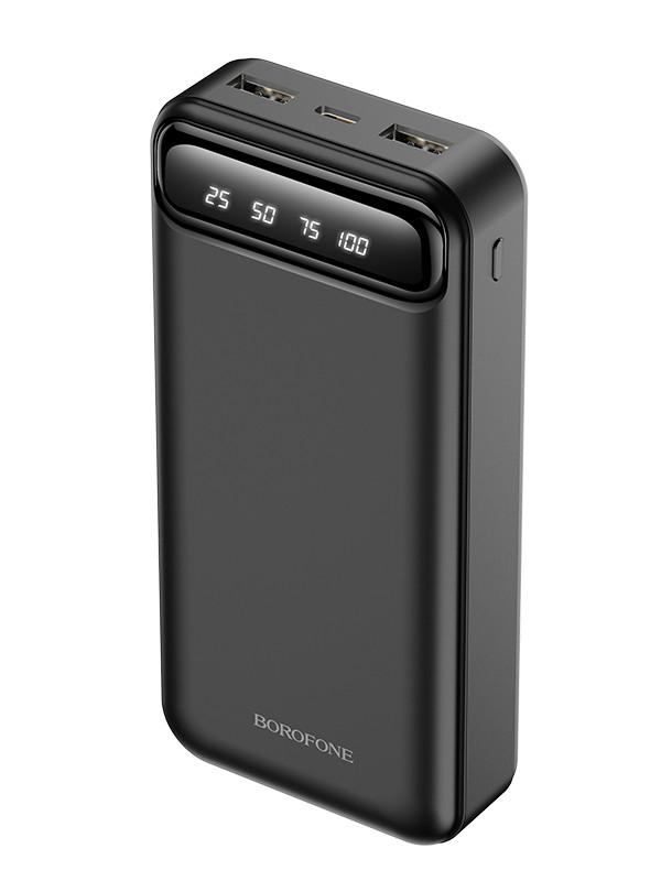 Внешний аккумулятор Borofone Power Bank BJ14A Freeway 20000mAh Black