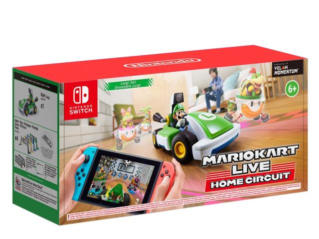 Набор Nintendo Switch Mario Kart Live - Home Circuit: Luigi