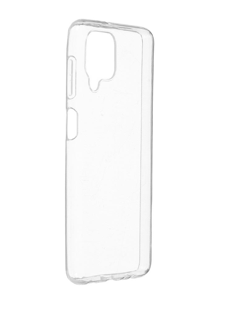 Чехол Brosco для Samsung Galaxy M32 Silicone Transparent SS-M32-TPU-TRANSPARENT