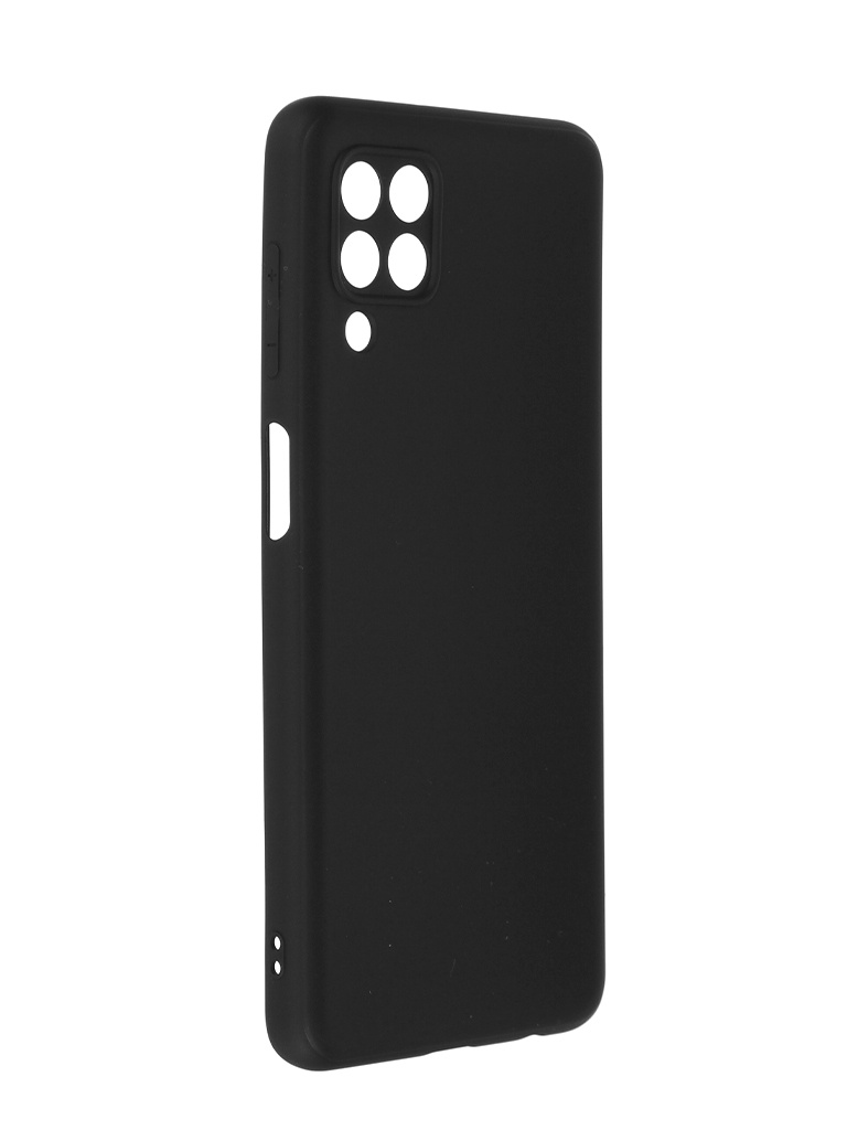 Чехол Brosco для Samsung Galaxy M32 Matte Black SS-M32-COLOURFUL-BLACK