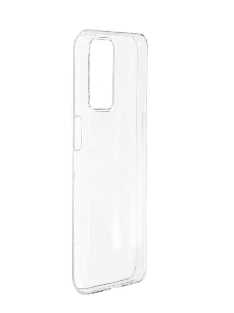 Чехол Brosco для Oppo A54 Silicone Transparent OPPO-A54-TPU-TRANSPARENT