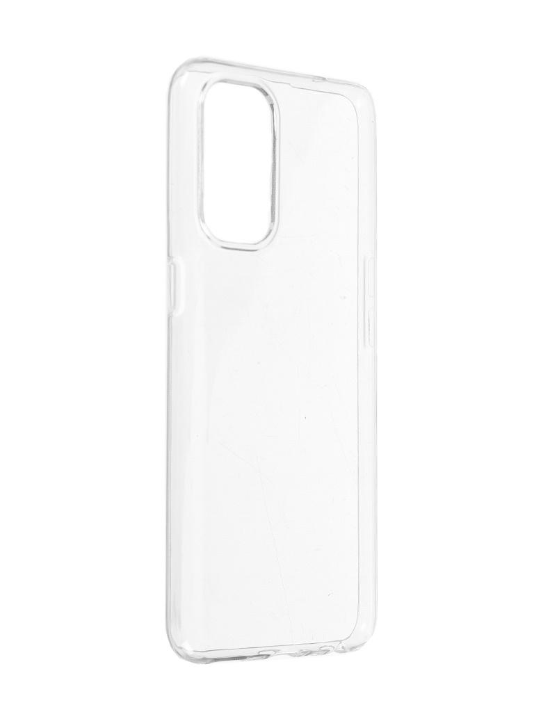 Чехол Brosco для Oppo Reno 5 Silicone Transparent OPPO-R5-TPU-TRANSPARENT