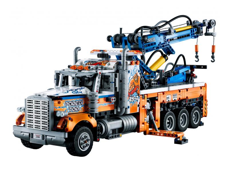 Lego Грузовой эвакуатор 42128