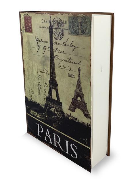 Сейф-книга Cassida Premium Paris с ключом