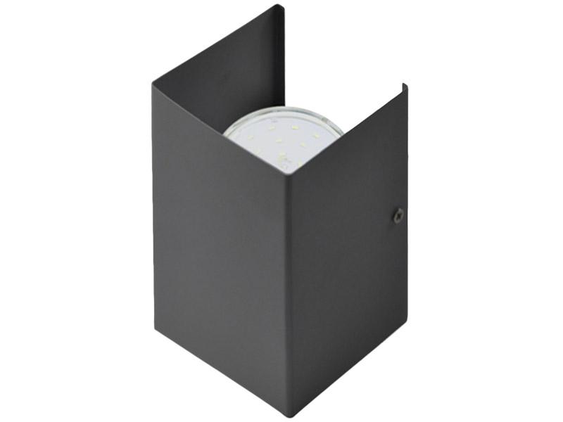 Светильник In Home GX53S-Wall 2MB под лампу GX53 230V двусторонний Matt Black 4690612034294