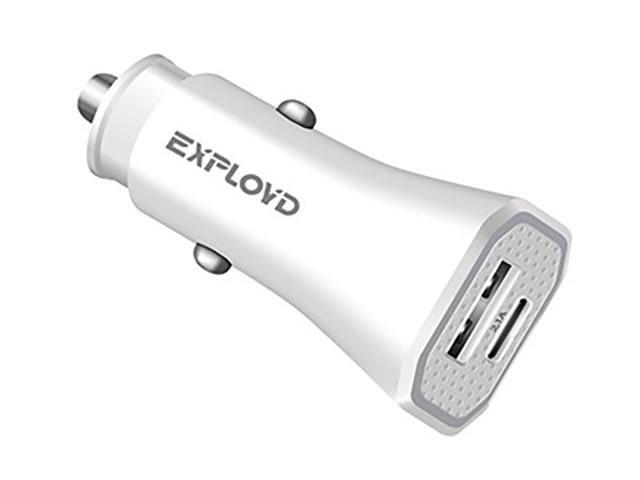 Зарядное устройство Exployd Ray 1хUSB 2.1A PD 18W White EX-Z-1200